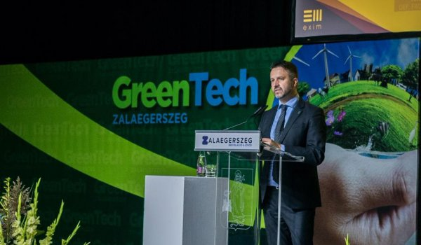 On the future of green finance at the GreenTech conference
