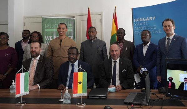Sewage water treatment projects with Hungarian technology and financing launched in another two cities of Ghana