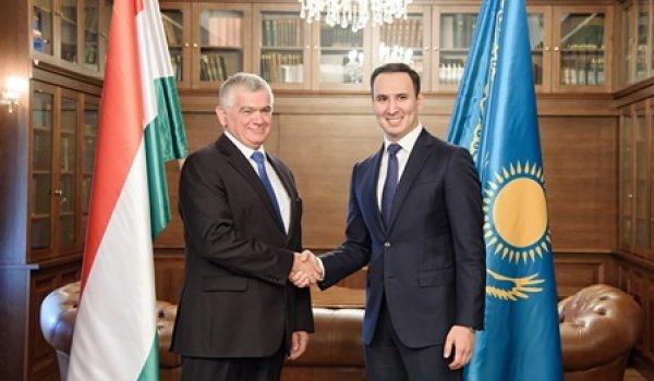Kazah-magyar megállapodás