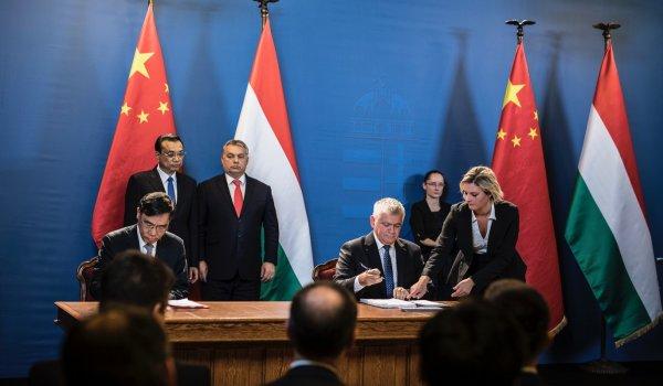 Három EXIM megállapodás született a Kína és 16 közép-kelet-európai ország kétnapos csúcstalálkozóján
